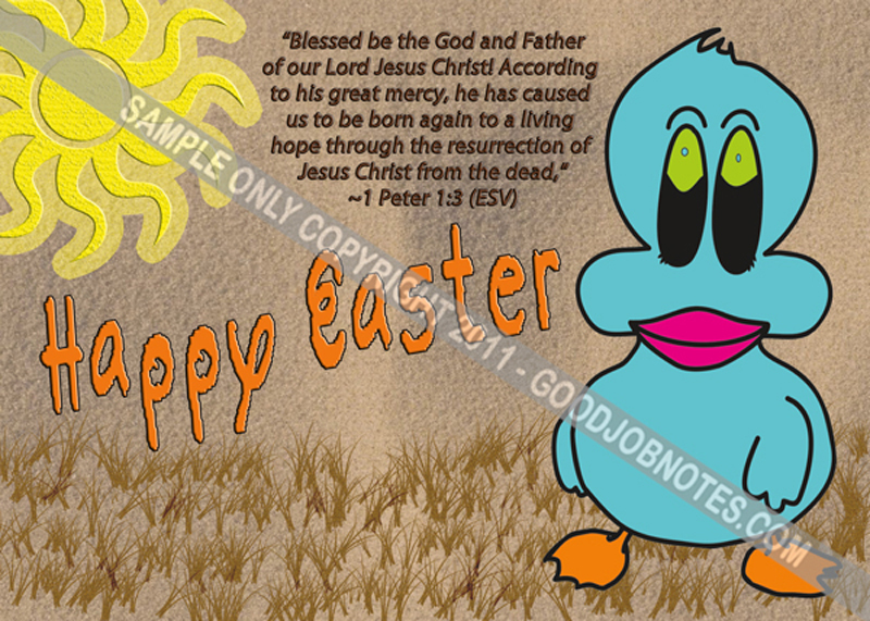 Easter Postcardsd Church Postcards Thank You Cards – Easter Verses for Cards